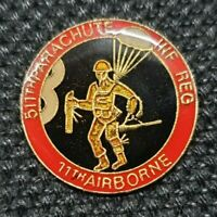 WW2 UNITED STATES US ARMY 511TH PARACHUTE INF REG 11TH AIRBORNE PIN BADGE