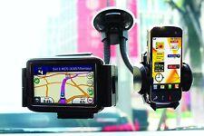 Car Windscreen Ipod, Iphone 5, 4, 4S, Samsung, Blackberry & Sat Nav Twin Holder