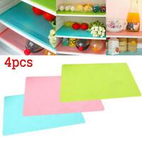 4 Refrigerator Fridge Washable Mat Pad Drawer Liners Kitchen Waterproof Shelf YG