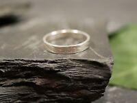 Toller 925 Silber Ring Klein Kinderring? Muster Rillen Struktur Schlicht Unisex