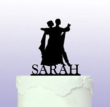 Personalised Ballroom Dancing Acrylic Cake Topper
