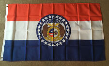 Missouri state, State flag 3 X 5 ft. polyester 2 Grommet holes