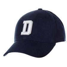 Dallas Cowboys NFL D Logo Hat Cap Blue Flex Fit Adult Men's S/M