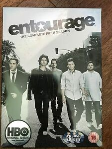 Entourage Season 5 DVD Box Set HBO US Film Industry Comedy Second Series