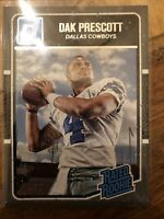 2016 Donruss Dak Prescott Rated Rookie Dallas Cowboys RC No. 362
