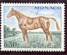 STAMP / TIMBRE DE MONACO N° 833 ** FAUNE / CHEVAL / CHEVAL DE SELLE FRANCAIS
