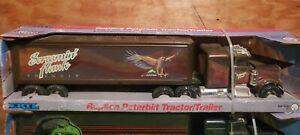 "Ertl 1989 Peterbilt ""Screamin Hawk"" Freight Tractor Semi Truck Toy #3608 STEEL"