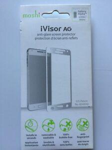 Moshi iVisor AG Screen Protector for Samsung Galaxy Alpha - White NEW