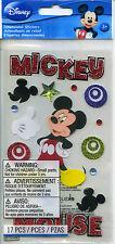 "Disney EK Success ""MICKEY MOUSE"" Dimensional Scrapbooking Stickers S-133"