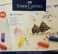 Faber Castell Mini Artists Chalk Soft Pastels 48 Colours Assorted Set