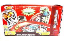 Hasbro Micro Machines POWER RACING MAGNETICS Huge Playset + 5 Extra Cars MIB`04!