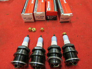 1928-34 Ford 4 cyl Model A B NEW motorcraft replacement spark plugs A-12405-M