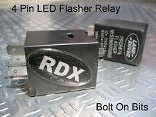 RDX 4 Pin Flasher Relay LED & Trailer OK NO MORE Resistors LandRover Defender