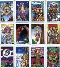 Oop rare Pocketable Tarot 78 fully cards deck*Rider Waite Clone