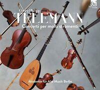 Akademie Fur Alte Musik Berlin - Telemann: Concerti per molti stromenti [CD]