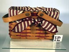 """Longaberger Sweetheart """"Picture Perfect"""" Basket Combo"""