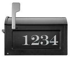 CUSTOM Address Numbers - Font 7 - House Door Mailbox Sticker Decal