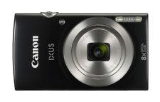 Canon IXUS 185 Black 20mp 8x Zoom Digital Room