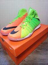 Nike HypervenomX Proximo II DF IC Indoor Soccer 852577-308 Green Futsal Sz 8.5