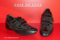 """Sneakers in Pelle e Vernice  """" NOIR DE LUXE """"  Nero [ - 50 % ]  (NDL I821)"""