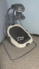 Pre-Owned Graco Duet Soothe Swing & Rocker, Sapphire, 1852655, for Parts