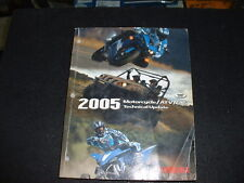 2005 Motorcycle/Atv/SxS Technical Update Manual