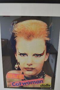 Rare Chance! Sex Pistols Jamie Reid Limited 18/30 Sue Catwoman Dolls Punk