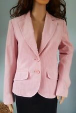Ladies H&M Corduroy Pale Pink Blazer Jacket Coat  Size 6/8