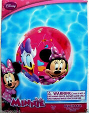 "Disney Minnie Mouse Clubhouse,Minnie & Daisy 20"" Inflatable Beach Ball,Kids 2+"