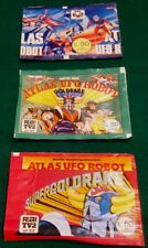 Bustina figurine ATLAS UFO ROBOT GOLDRAKE 1978 SIGILLATA FULL PACKET STICKERS