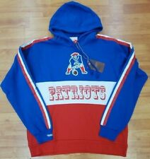 New England Patriots Mitchell & Ness NFL Leading Scorer Fleece Hoody