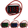 "Waterproof 0.28"" DC 3.5-30V Mini Digital LED Voltmeter Volt Meter F 12V Car Moto"