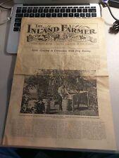 "1917 Rare  "" The Inland Farmer "" Magazine ""  November Issue"