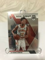 2019-20 Panini Mosaic Basketball De'andre Hunter RC NBA Debut Atlanta Hawks