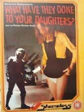WHAT HAVE THEY DONE TO YOUR DAUGHTERS DVD MASSIMO DALLAMANO CLASSIC
