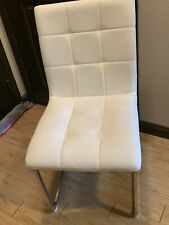 chair dining room White 2 Pack Good Condition