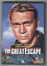 The Great Escape (1963) Steve McQueen James Garner Dvd Free Shipping