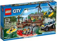 LEGO City - 60068 Crooks' Hideout / Banditenversteck im Sumpf - Neu & OVP