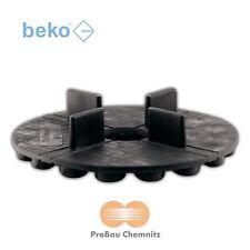 beko TERRASYS Plattenlager Flex, Terrassen Platten, 4 x 18 mm, Ø120 mm, 50 Stück