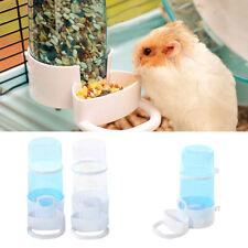 KF_ Transparent Automatic Hamster Water Bottle Feeder Guinea Pig Bird Feeding