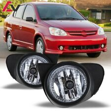 For Toyota Echo 03-05 Clear Lens Pair Bumper Fog Light Lamp+Wiring+Switch Kit