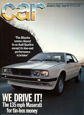 Car - March 1982