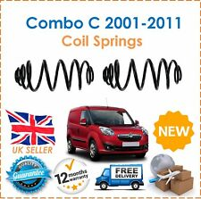 For Vauxhall Combo C  2001-2011 Two Rear Coil Springs Set Pair New x2 New
