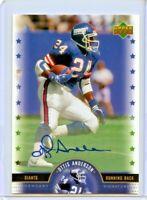 Ottis Anderson 2005 Upper Deck Legendary Signatures NFL Legends Auto GIANTS