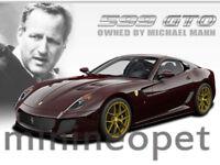 HOT WHEELS V7424 ELITE FERRARI 599GTO 599 GTO 1/18 MICHAEL MANN