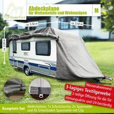 GreenYard Abdeckplane Wohnwagen Wohnmobil Schutzhülle Gr. M, 550 x 250 x 220 cm