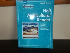 Holt Elements Of Literature Multicultural Reader Fourth Course Paper Back