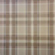 Fine Decor- Caledonia Tartan Tan - Brown - Oxford Collection - Wallpaper FD21222