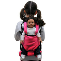 "Child's Backpack & Doll Carrier Sleeping Bag For 18"" American Girl Clothes BWP"