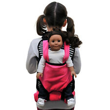"""Child's Backpack & Doll Carrier Sleeping Bag For 18"""" American Girl Clothes Bwp"""